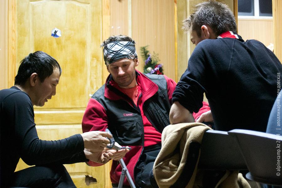 Макс Тен проводит ликбез в лагере