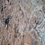 Максим Высотин на южной стене Пионера