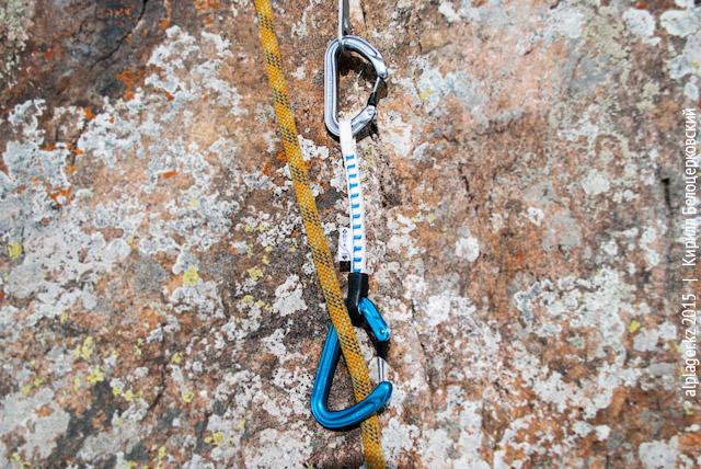 Оттяжка, альпинизм