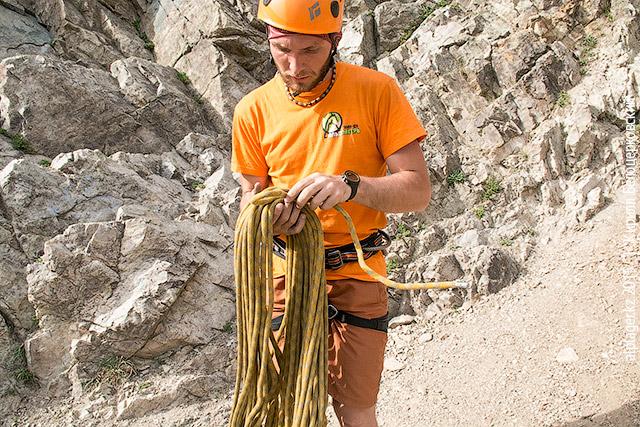 Верёвка в кольцах