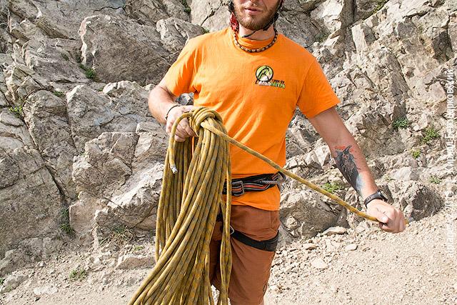 Смаркированная верёвка