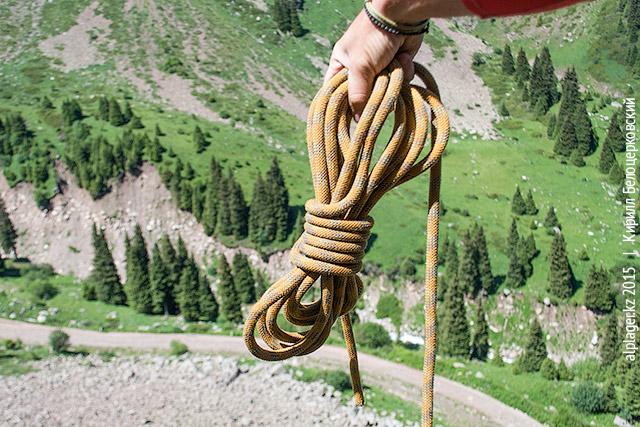 Кольца, обмотанные верёвкой