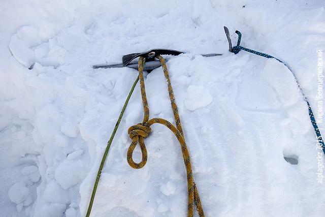 Проводник на верёвке