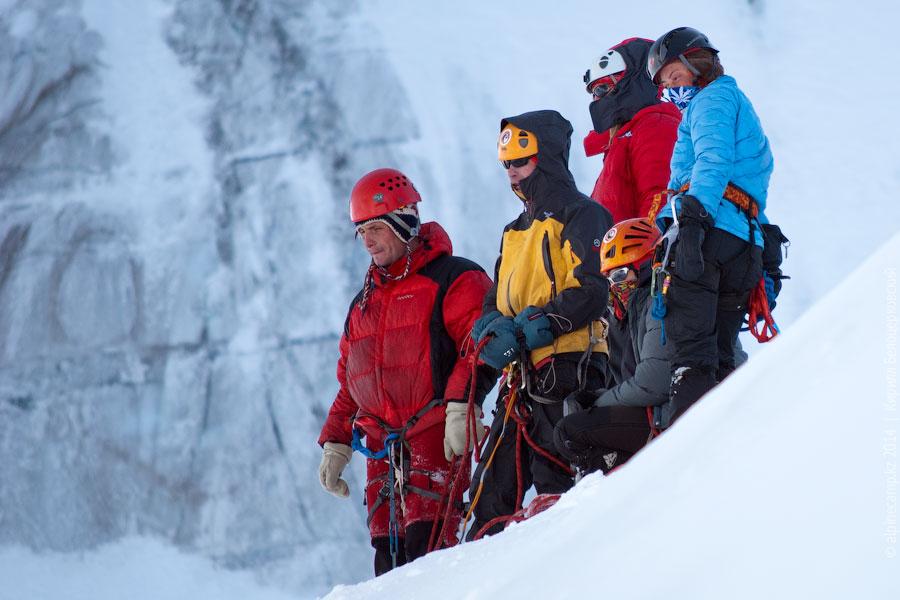 Отделение Александра Софрыгина на ледовых занятиях